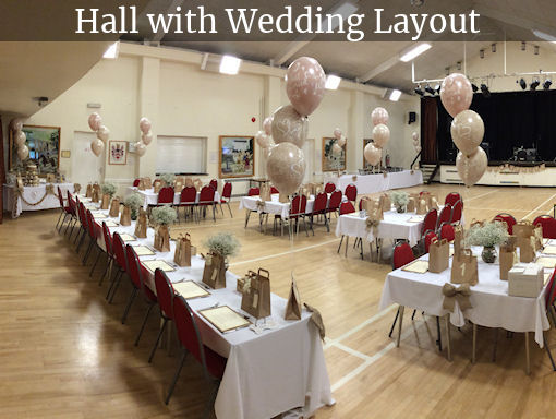 Hall with Wedding Layout